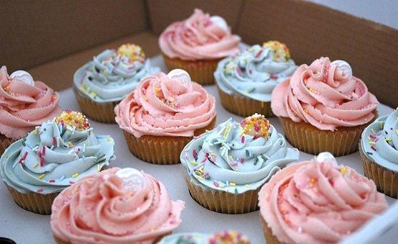 Buttercream para cupcake