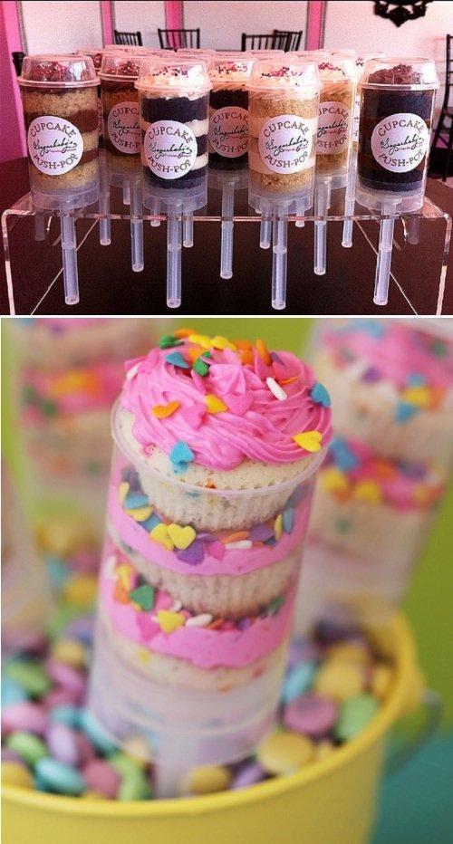 Lembrancinha: push-up cake pops
